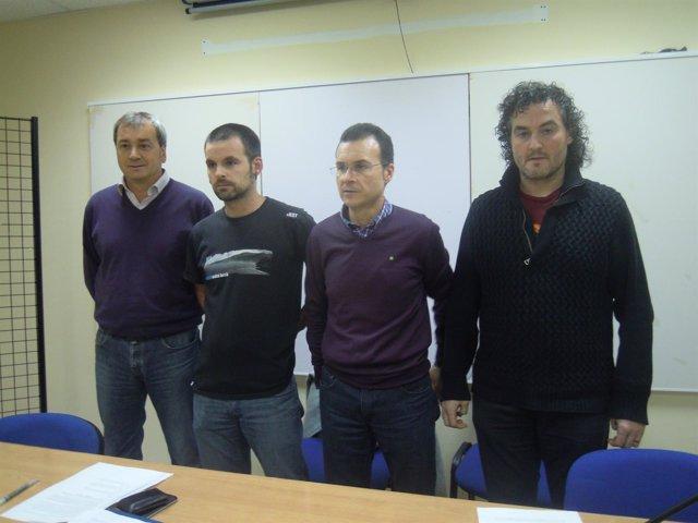 Representantes sindicales de Euskaltel