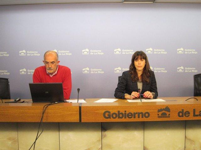 Marian Ortigosa y Gonzalo López