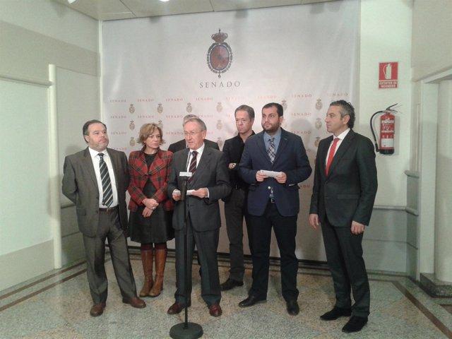 Senadores del PSOE de Castilla y León