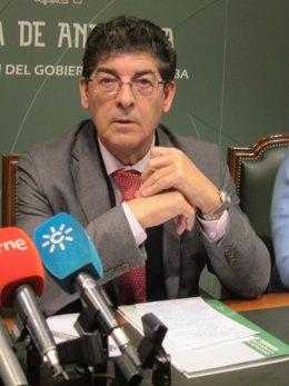 El vicepresidente de la Junta de Andalucía, Diego Valderas