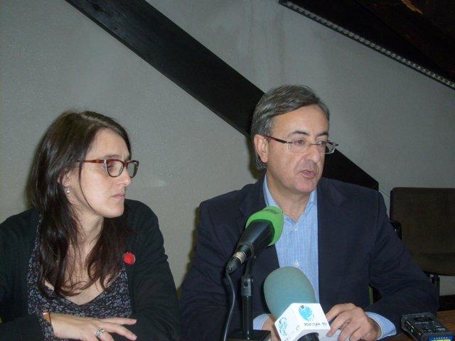 Lidia Ruiz y Pedro G. Carmona