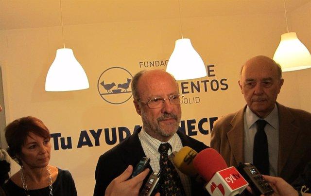 Presentación del nuevo local del Banco de Alimentos de Valladolid