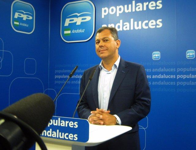 José Luis Sanz, hoy en rueda de prensa
