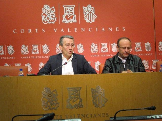 Antonio Torres y Rafa Rubio en rueda de prensa