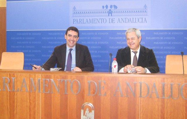 Mario Jiménez y Francisco Vallejo, este viernes
