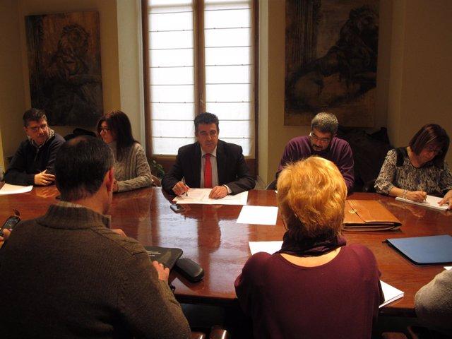 Mesa de Negociación sobre la paga extra