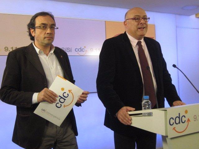Josep Rull, Lluís Corominas (CDC)