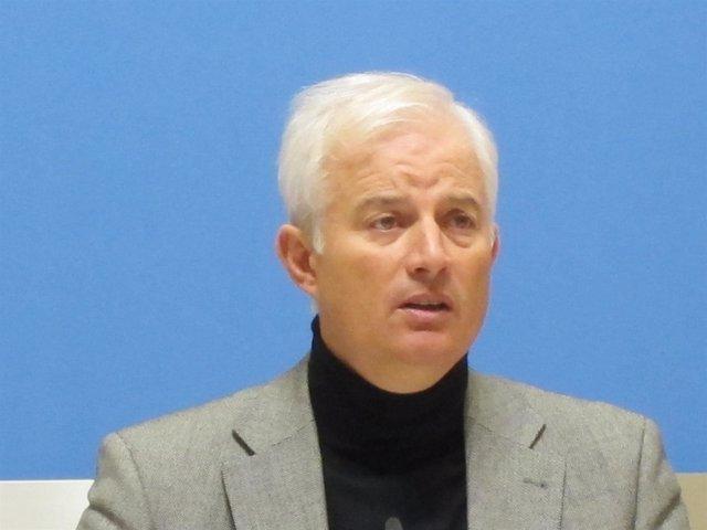 El portavoz del PP en el Ayuntamiento, Eloy Suárez