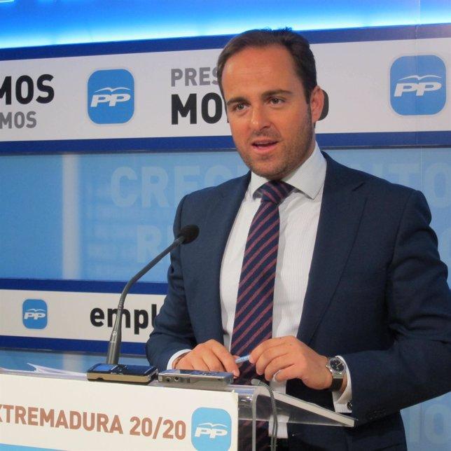 Juan Parejo, PP Extremadura