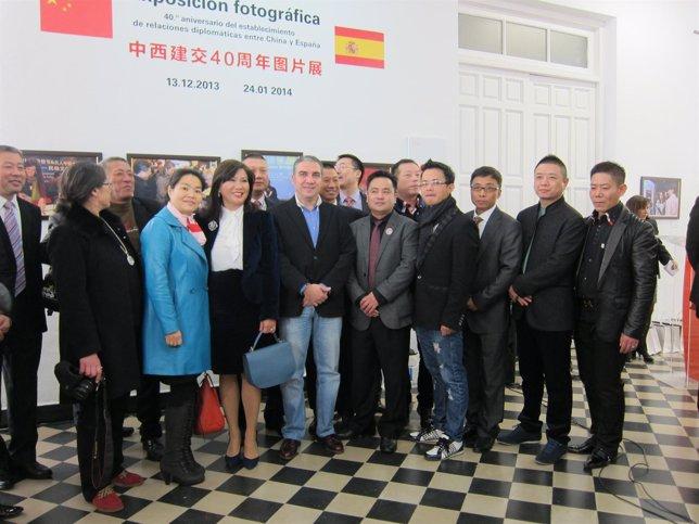 Elías Bendodo recibe a la misión comercial de inversores chinos