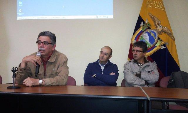 Investigadores de la UPO en Ecuador