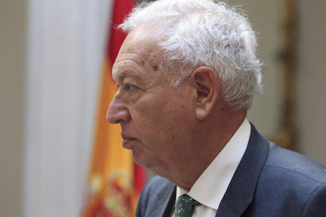 El ministro de Exteriores, José Manuel García Margallo