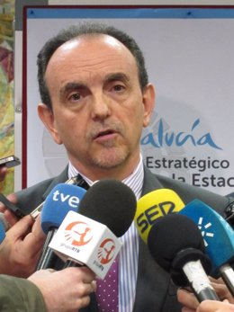Rafael Rodríguez, consejero de Turismo y comercio de Andalucía