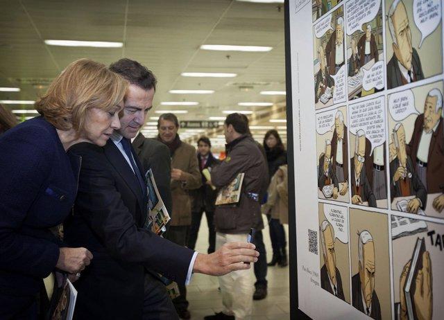 Mariño y Cavero presentan la XVII campaña 'Libros a la calle'