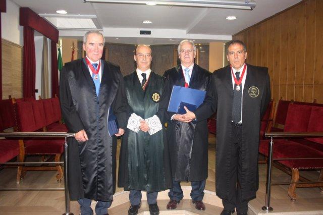 Abogados premiados con la Medalla al Mérito del Servicio de la Abogacía