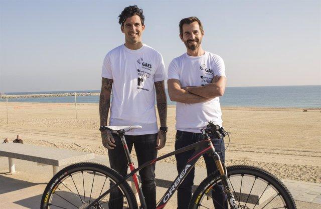 Josef Ajram y Santi Millán