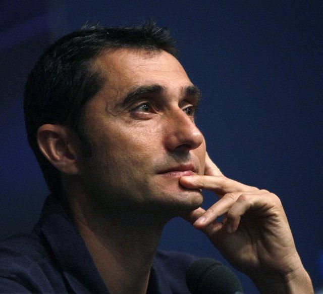 El entrenador del Villareal, Ernesto Valverde