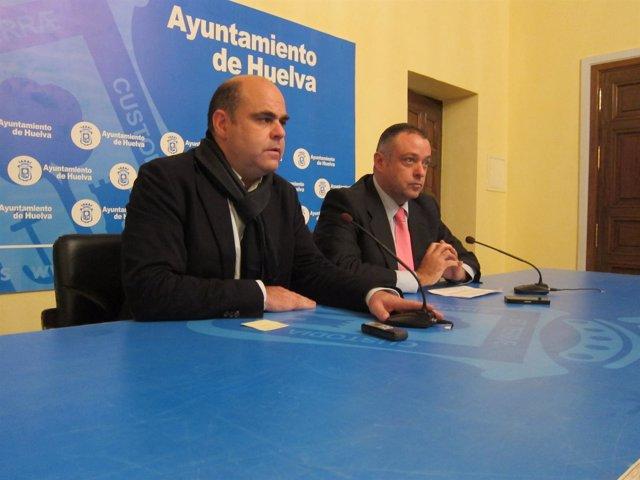 Saúl Fernández y Juan Carlos Adame.