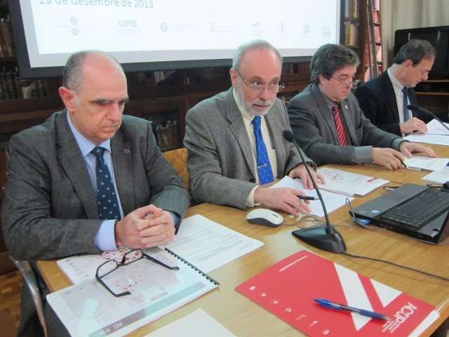 Francesc Xavier Grau; Ferran Sancho; Jordi Albert y Lluís Jofre
