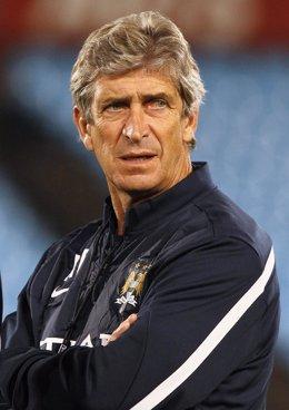 Manuel Pellegrini en el Manchester City