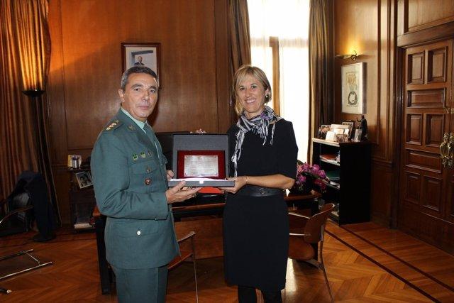Basilio Sánchez Rufo y Teresa Palmer