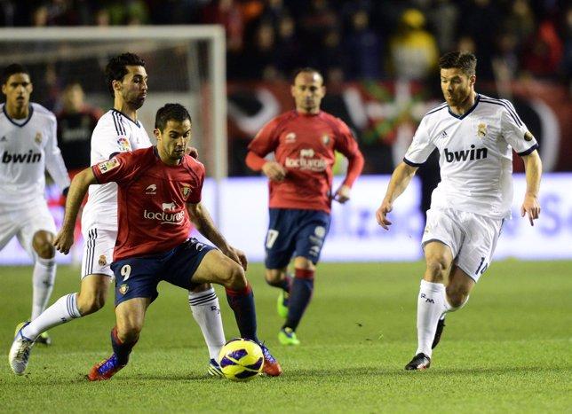 Osasuna y Real Madrid empatan en el Reyno