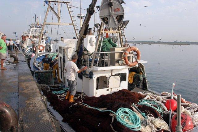 Barco pesquero andaluz