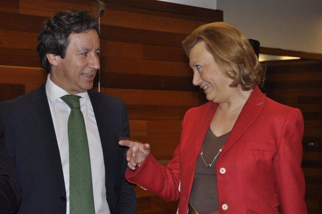 Carlos Floriano y Luisa Fernanda Rudi
