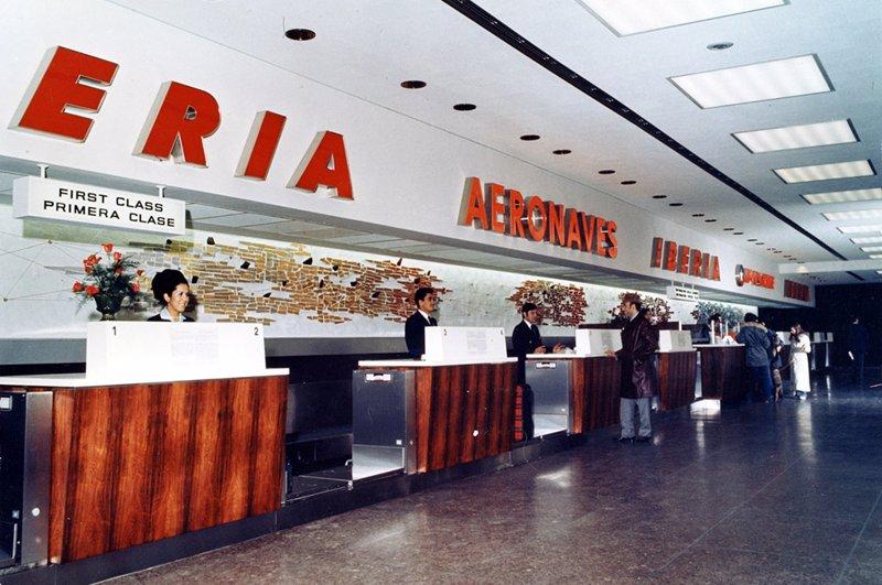 Sábado Su Los Primer 86 Iberia Vuelo De Este Celebra Años Ewq1paT