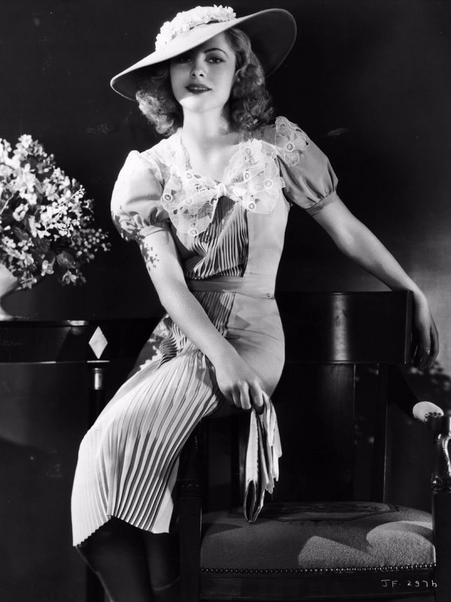 Actriz Joan Fontaine