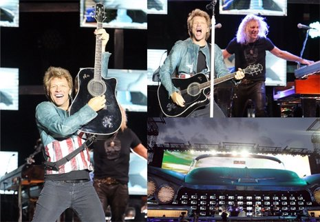 Bon Jovi en concierto en Madrid