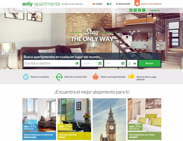 Web de Only-Apartments