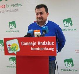 Maíllo confía en que ningún diputado de IULV-CA incumpla el mandato del Consejo Andaluz y vote en contra del Presupuesto