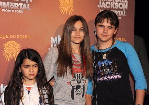 Hijos de Michael Jackson