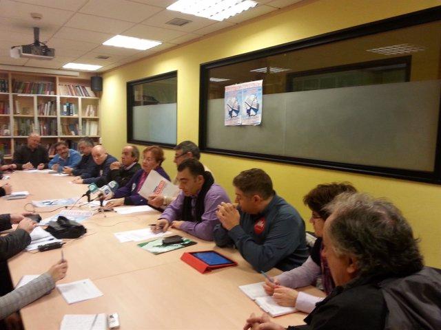 Mesa Xeral Plataforma Galega pola defensa dos servizos públicos