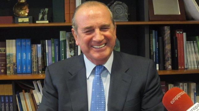 Miguel Ángel Lujua, presidente de Confebask