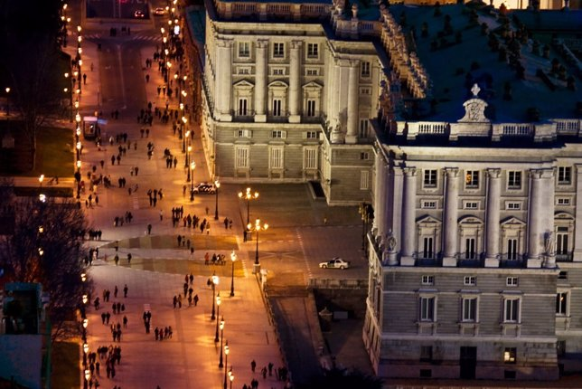 Alumbrado en Madrid