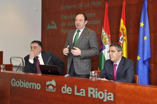 Pleno de la FRM inaugurado por el presidente del Gobierno riojano