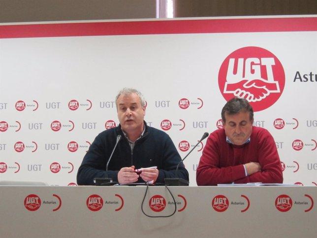 Fermín de Con y José Manuel Fernandez FeS UGT