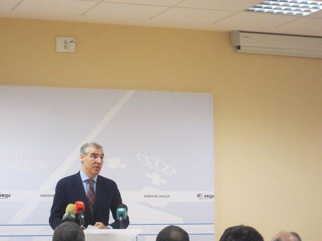 El conselleiro de Economía e Industria, Francisco Conde, abre unas jornadas