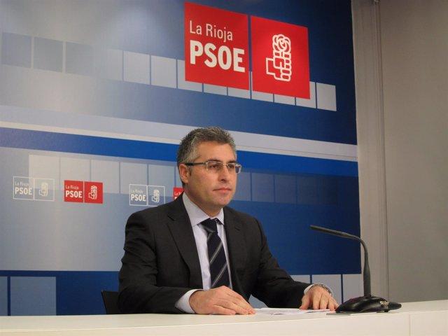 El diputado José Ángel Lacalzada presenta enmiendas parciales del PSOE