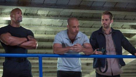 Dwayne Johnson, Vin Diesel, Paul Walker
