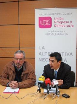 Sotomayor y Serna en rueda de prensa