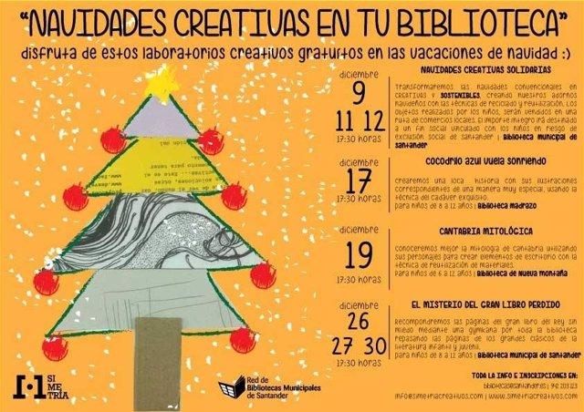 Cartel de los 'Laboratorios creativos'