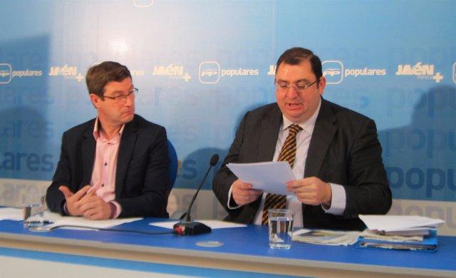 Miguel Contreras y Javier Calvente