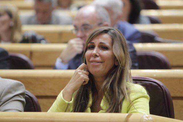 Alicia Sánchez Camacho en el Senado