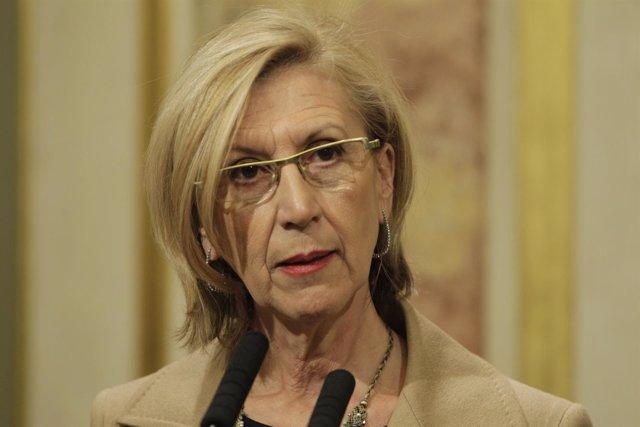 Rosa Díez (UPyD) en el Congreso