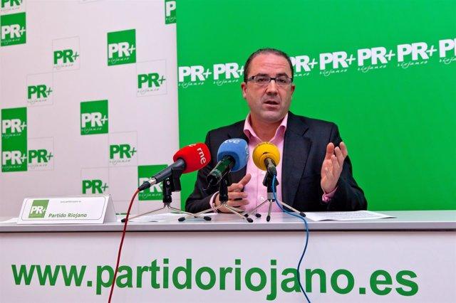 El diputado del Partido Riojano, Rubén Gil Trincado