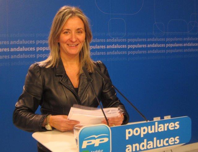 Carolina González Vigo, hoy ante los medios