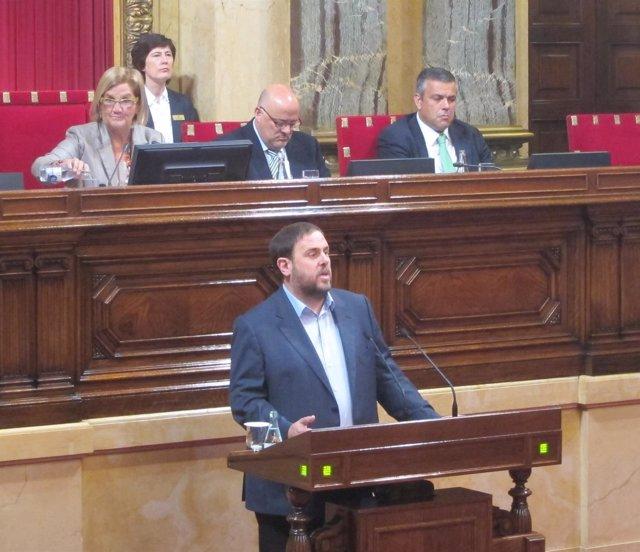 Oriol Junqueras (ERC) (Archivo)